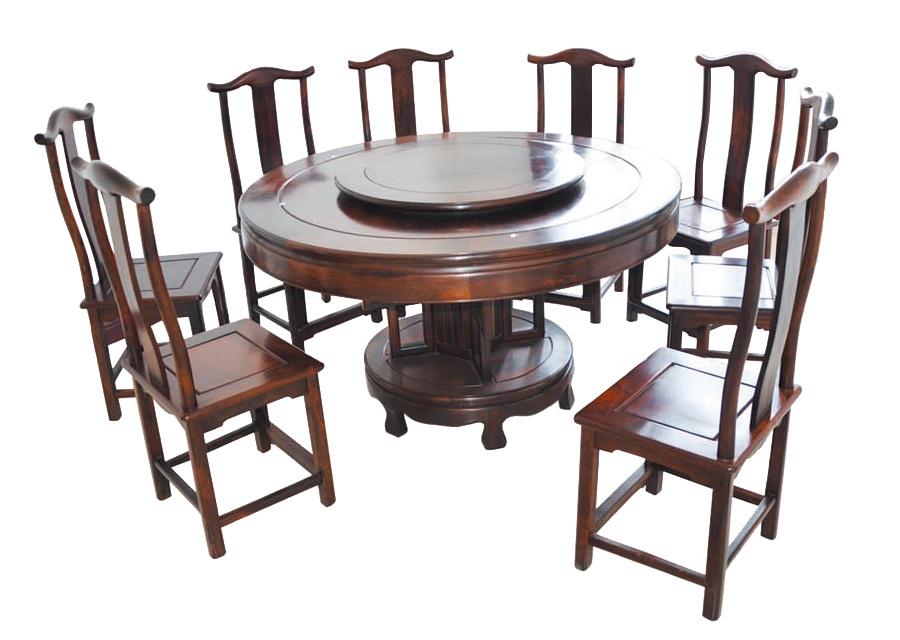 大红酸枝明式餐桌