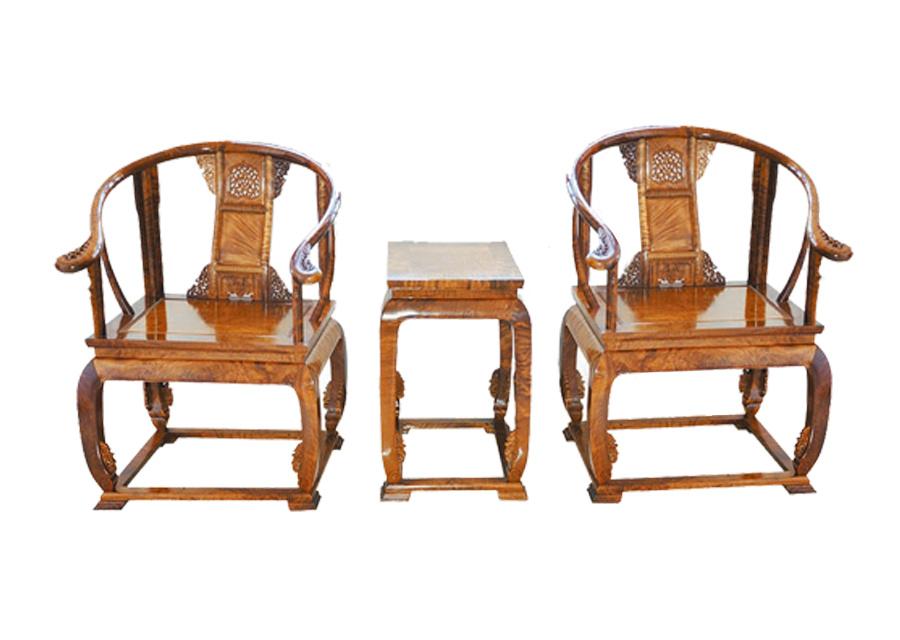 金林楠皇宫圈椅