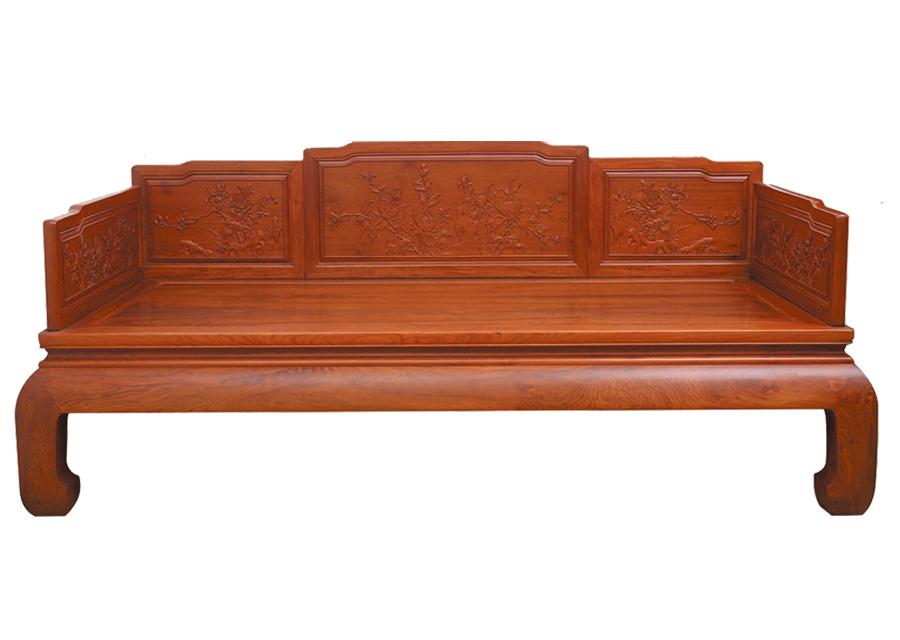 缅甸花梨罗汉床