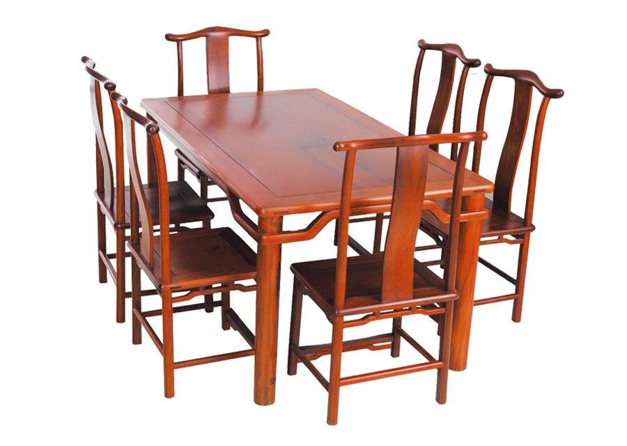 缅甸花梨明式餐桌
