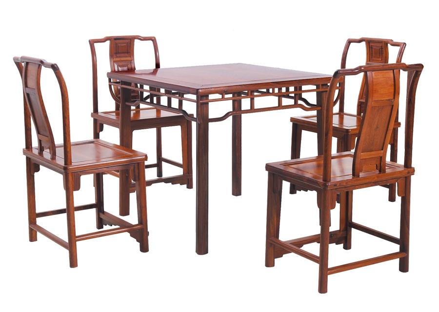 缅甸酸枝茶桌